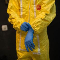 Suit Contamination